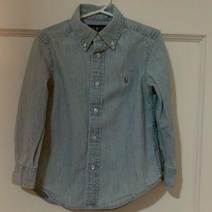 Polo Ralph Lauren Boy's Denim Shirt